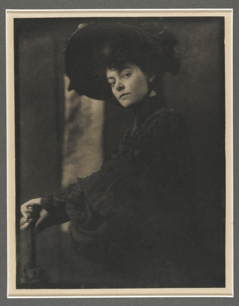 Gertrude Kasebier, American, 1852–1934; Miss Minny Ashley, 1905, photogravure; Carnegie Museum of Art, Gift of the George H. Ebbs Family, 2007.51.44