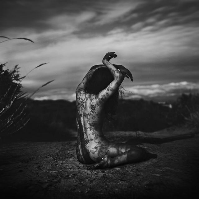 Brooke Shaden - The Facade Of Wilting Flowers