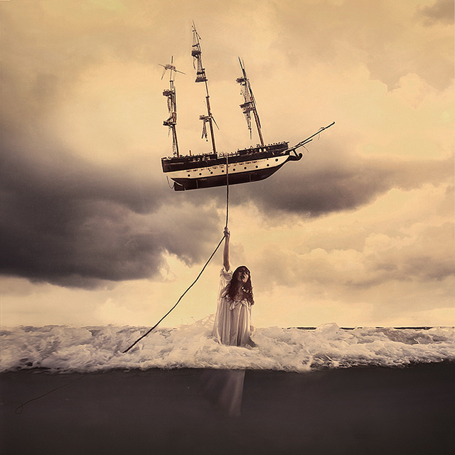 Brooke Shaden - The Tide That Takes Us All