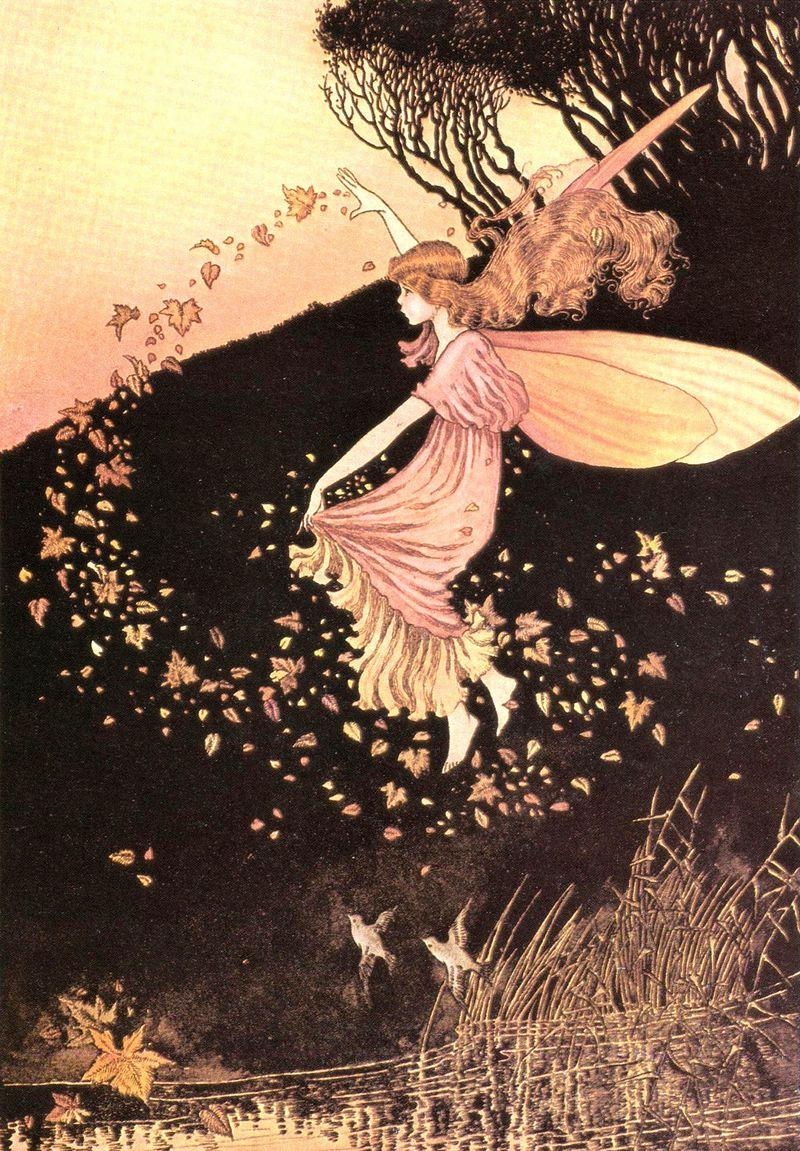 VINTAGE The Fairies' Alphabet Book by Beverlie Manson 1982 Hardcover 1st Edition
